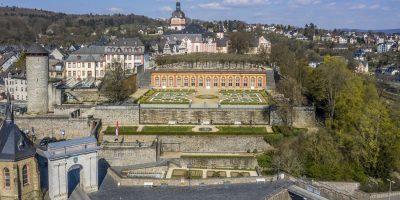 Schloss Weilburg aus der Luft_(c)Alexander Englert